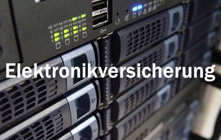 Die Elektronikversicherung versichert Schäden und Kosten, wenn Geräte und Anlagen nicht funktionieren