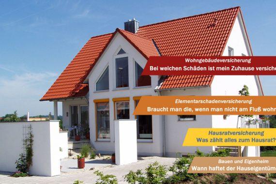 Viele Hausesitzer unterschätzen die Gefahren für Haus und Inventar durch Naturgewalten. Die passende Versicherung schützt und gibt Sicherheit