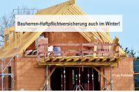 Auf einer Baustelle lauen viele Gefahren. Die Bauherrenhaftpflicht schützt und minimiert das Risiko