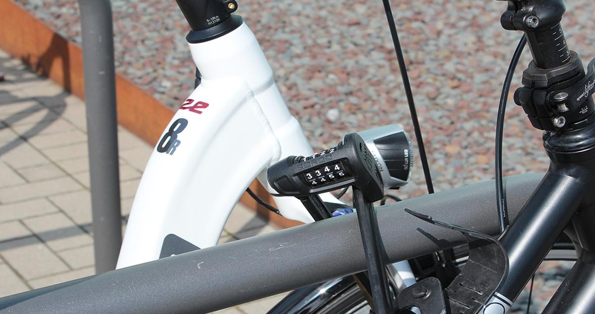 Fahrrad Diebe sind überall. Sichere Dein Fahrrad mit einem guten Schloß.
