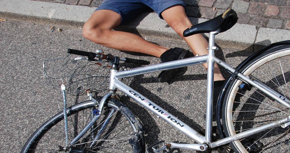 Zum Glück gehen die meisten Fahrradunfälle nur mit leichten Verletzungen oder Sachschäden aus.