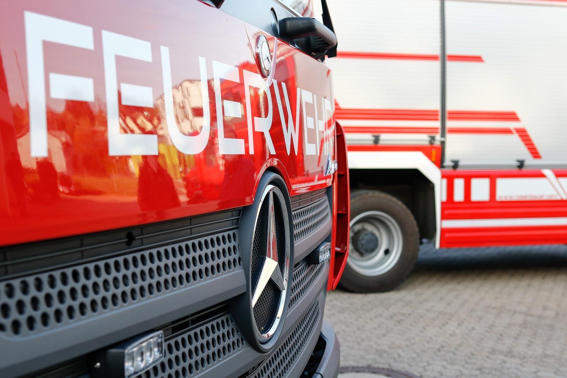 Feuerwehr Unfall
