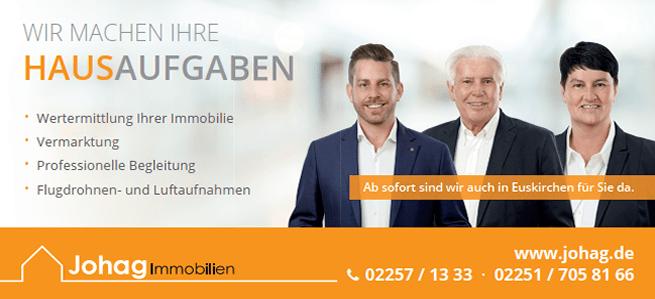 JOHAG Immobilien Premium Partner | Leo Forsbeck Versicherungsmakler