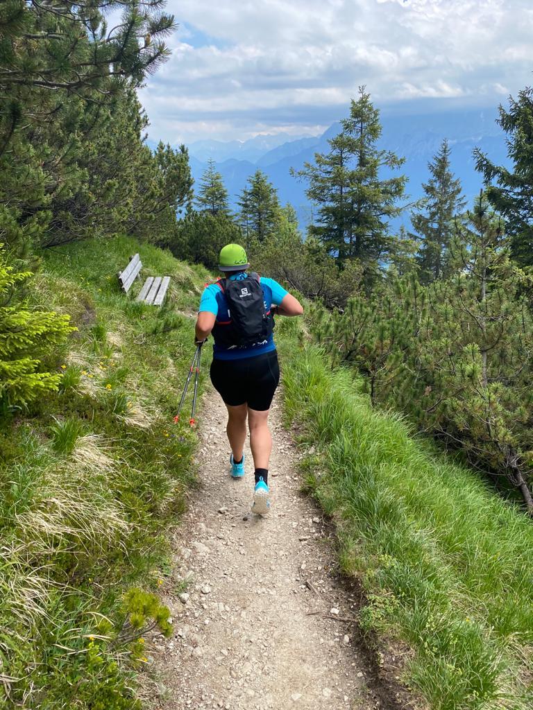 Kim Hahn | Leo Forsbeck beim bergwandern