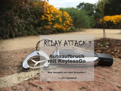 Diebe nutzen vermehrt Relay Attack