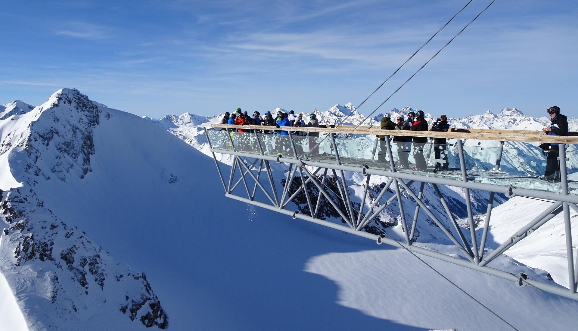 Skispaß und Luftrettung
