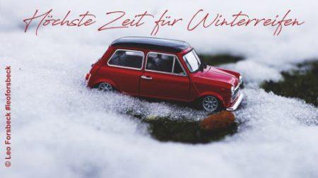 Leo Forsbeck Blog - Höchste Zeit für Winterreifen