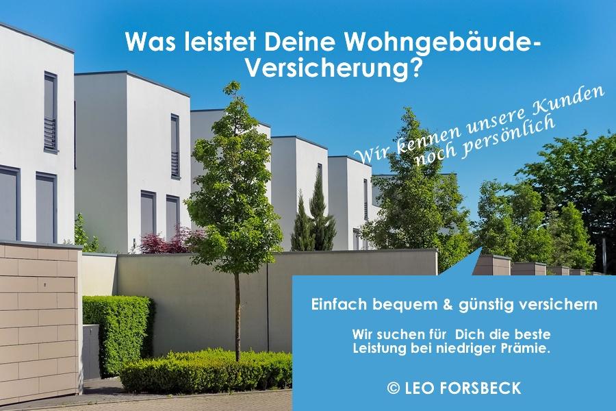 Was leistet Deinde Wohngebäude Versicherung?