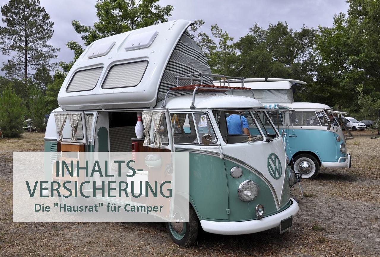 Inhaltsversicherung für Wohnmobile und Wohnwagen  Leo Forsbeck