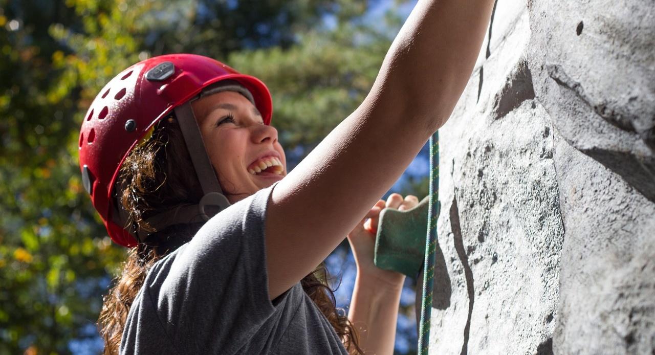 Aktiv im Urlaub - Klettern macht Laune