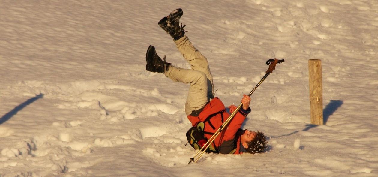 Leo Forsbeck | Die Unfallversicherung federt die Folgen eines Skiunfalls ab